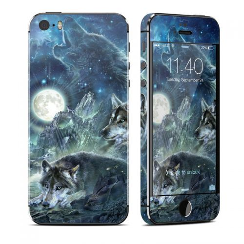 Bark At The Moon iPhone SE, 5s Skin