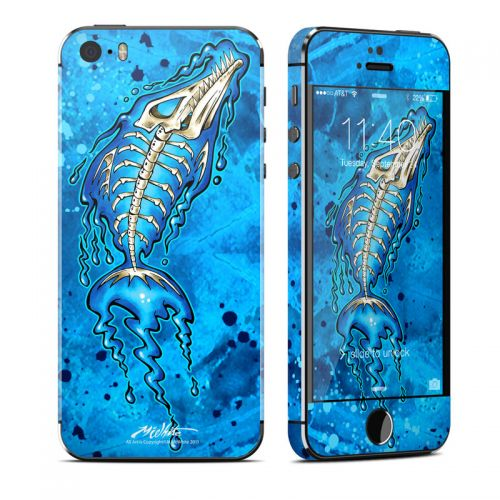 Barracuda Bones iPhone SE, 5s Skin