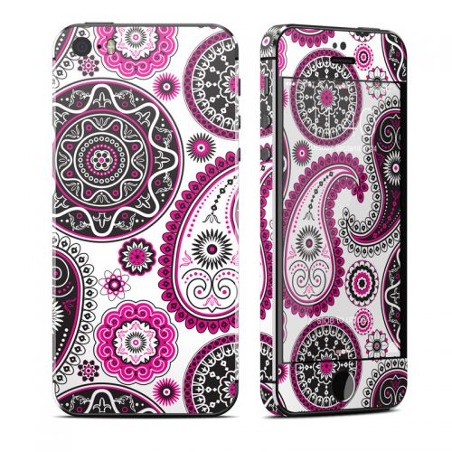 Boho Girl Paisley iPhone SE, 5s Skin