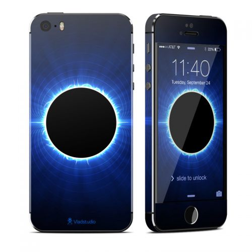 Blue Star Eclipse iPhone SE, 5s Skin