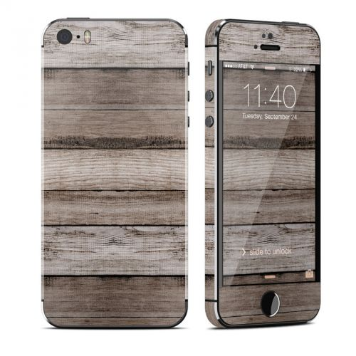 Barn Wood iPhone SE, 5s Skin