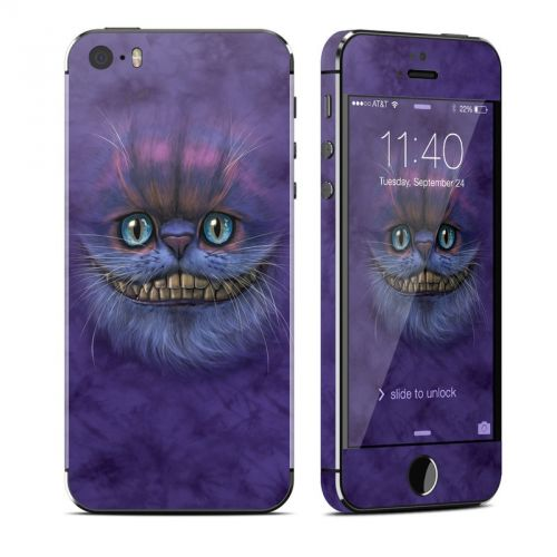 Cheshire Grin iPhone SE, 5s Skin