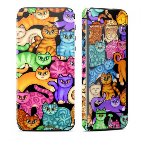 Colorful Kittens iPhone SE, 5s Skin