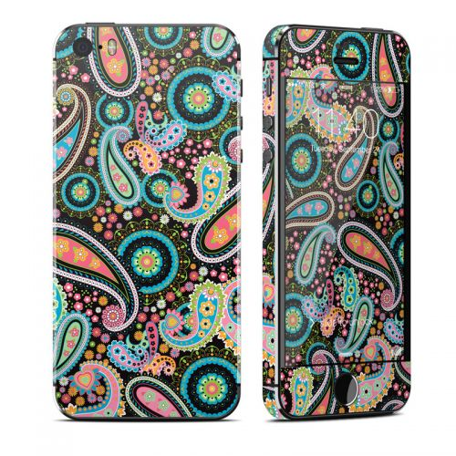 Crazy Daisy Paisley iPhone SE, 5s Skin