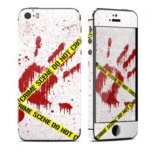 Crime Scene Revisited iPhone SE, 5s Skin