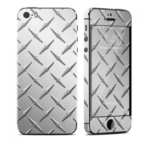 Diamond Plate iPhone SE, 5s Skin