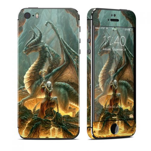 Dragon Mage iPhone SE, 5s Skin