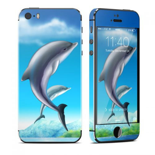 Dolphins iPhone 5s Skin