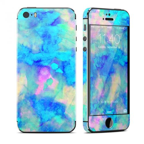 Electrify Ice Blue iPhone SE, 5s Skin