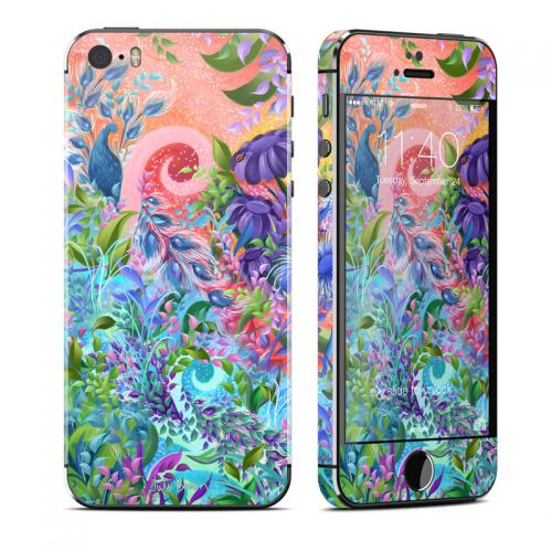 Fantasy Garden iPhone SE, 5s Skin