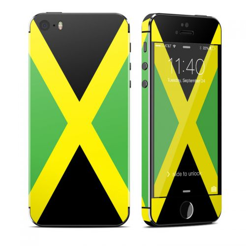 Jamaican Flag iPhone SE, 5s Skin