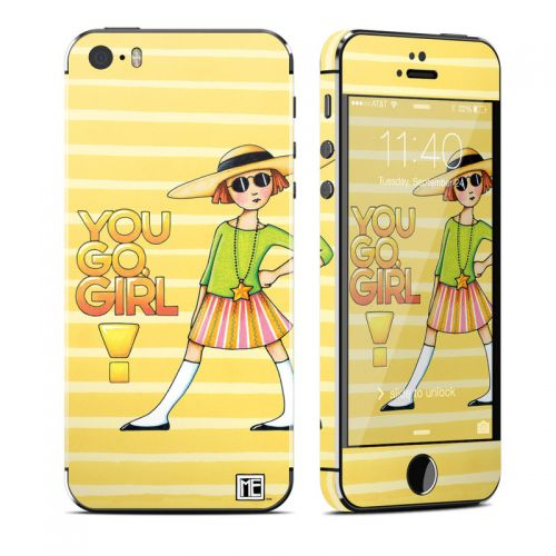 You Go Girl iPhone SE, 5s Skin