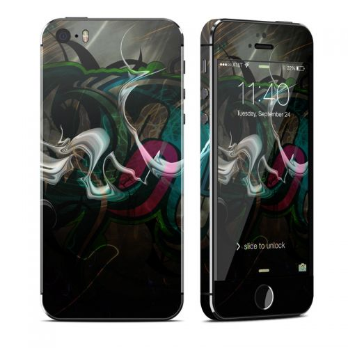 Graffstract iPhone SE, 5s Skin
