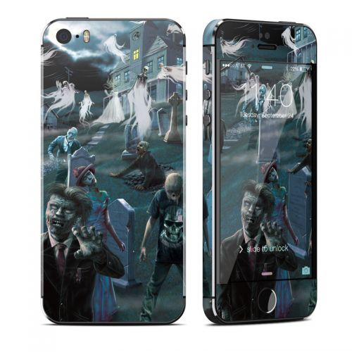 Graveyard iPhone SE, 5s Skin
