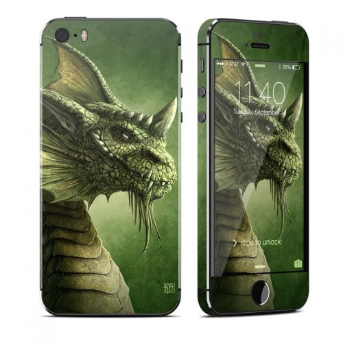 Green Dragon iPhone SE, 5s Skin