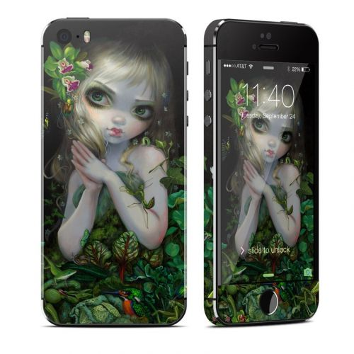 Green Goddess iPhone SE, 5s Skin