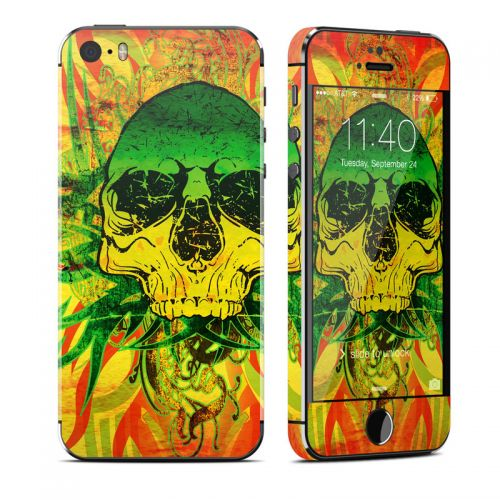 Hot Tribal Skull iPhone SE, 5s Skin