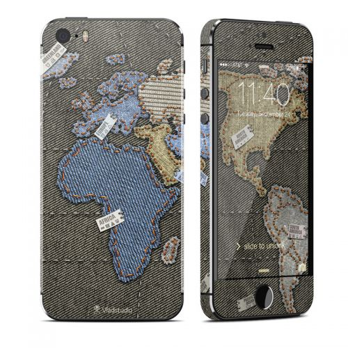 Jean Map iPhone SE, 5s Skin