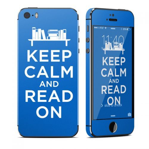 Keep Calm - Read iPhone SE, 5s Skin