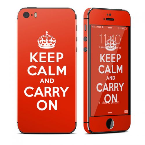 Keep Calm iPhone SE, 5s Skin