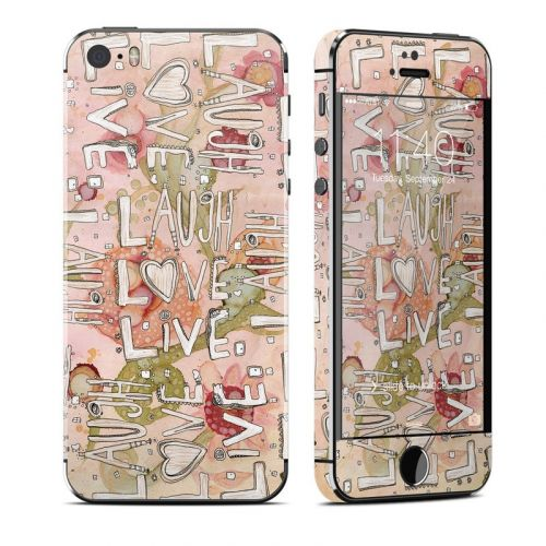 Love Floral iPhone SE, 5s Skin