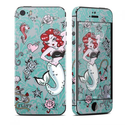 Molly Mermaid iPhone SE, 5s Skin