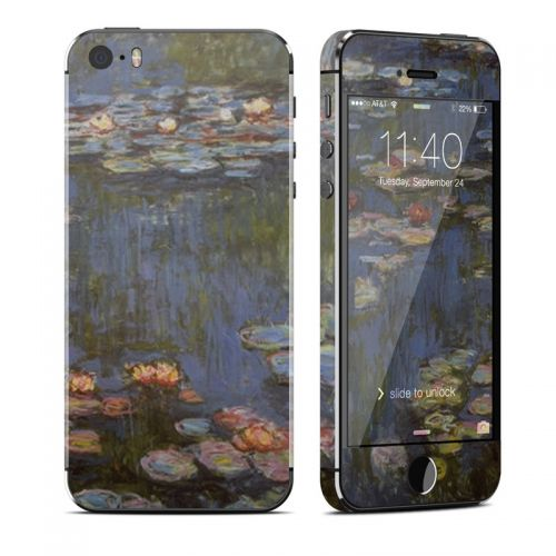 Water lilies iPhone SE, 5s Skin