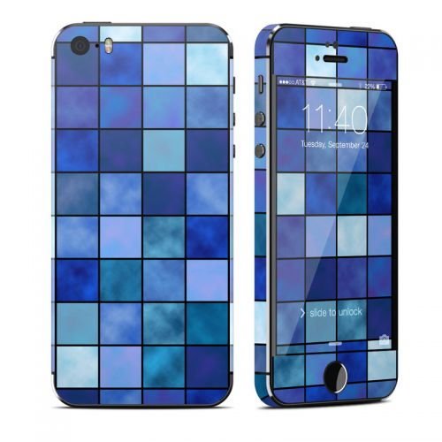 Blue Mosaic iPhone SE, 5s Skin
