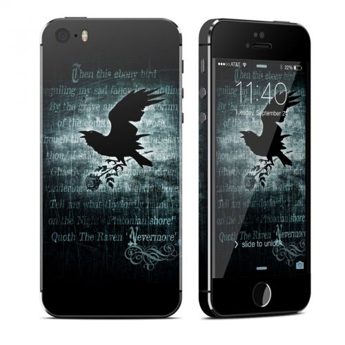 Nevermore iPhone SE, 5s Skin
