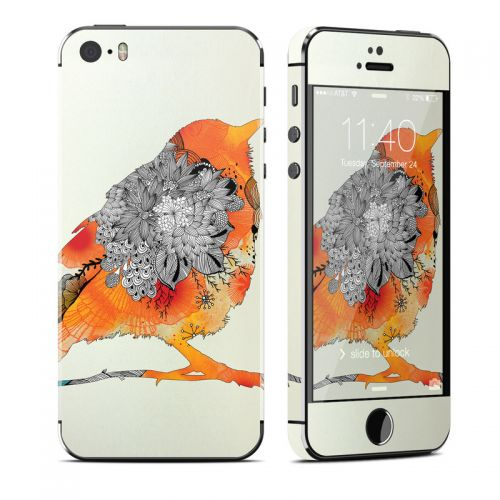 Orange Bird iPhone SE, 5s Skin