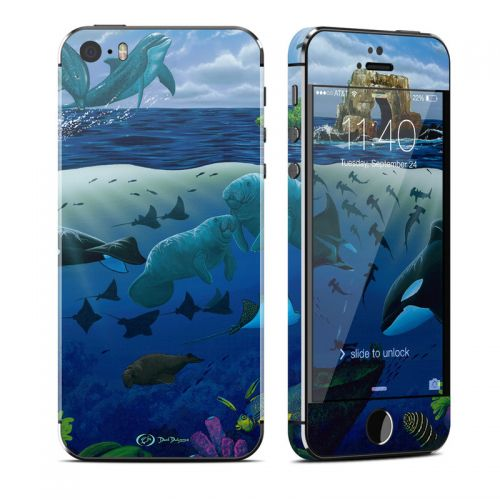 Oceans For Youth iPhone SE, 5s Skin