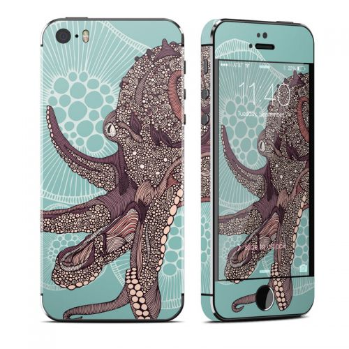 Octopus Bloom iPhone SE, 5s Skin
