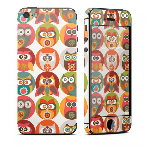 Owls Family iPhone SE, 5s Skin