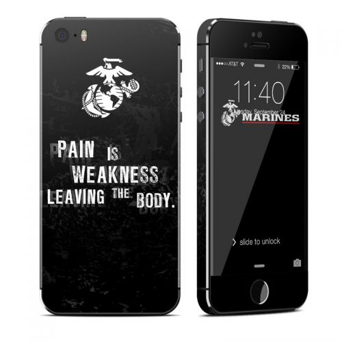 Pain iPhone SE, 5s Skin