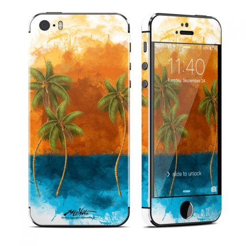 Palm Trio iPhone SE, 5s Skin