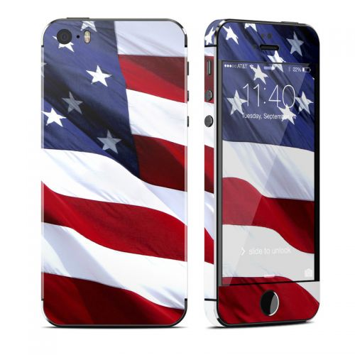 Patriotic iPhone SE, 5s Skin
