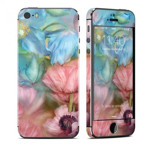 Poppy Garden iPhone SE, 5s Skin