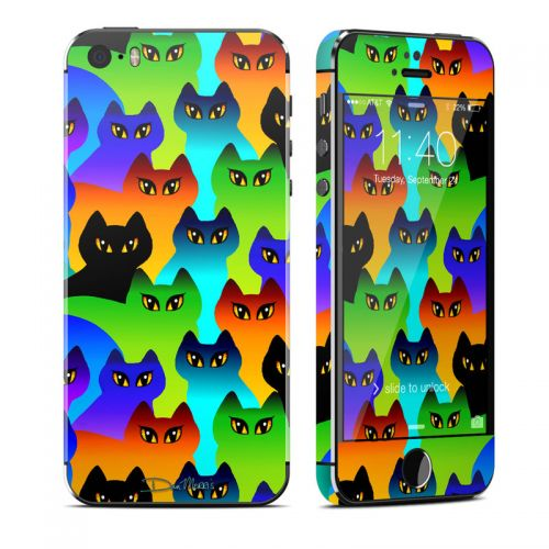 Rainbow Cats iPhone SE, 5s Skin