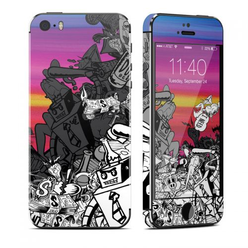 Robo Fight iPhone SE, 5s Skin