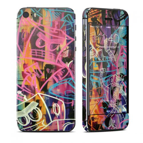 Robot Roundup iPhone SE, 5s Skin