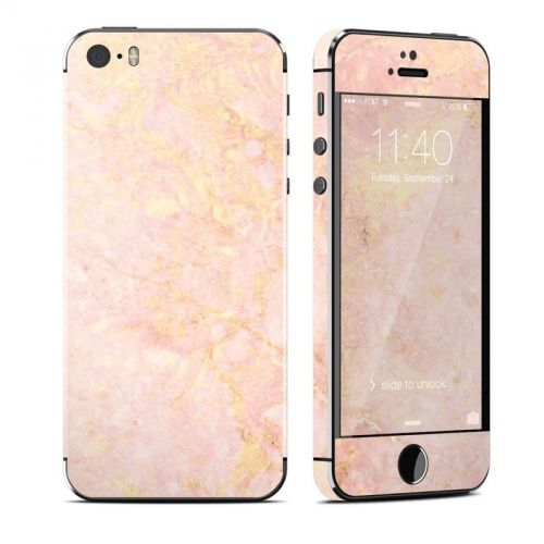 Rose Gold Marble iPhone SE, 5s Skin