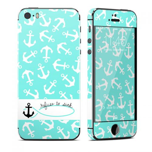 Refuse to Sink iPhone SE, 5s Skin