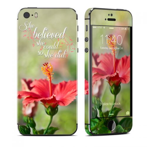 She Believed iPhone SE, 5s Skin