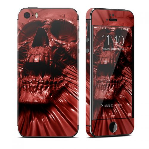 Skull Blood iPhone SE, 5s Skin