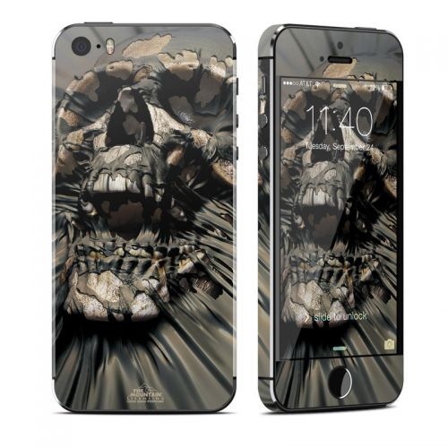 Skull Wrap iPhone SE, 5s Skin