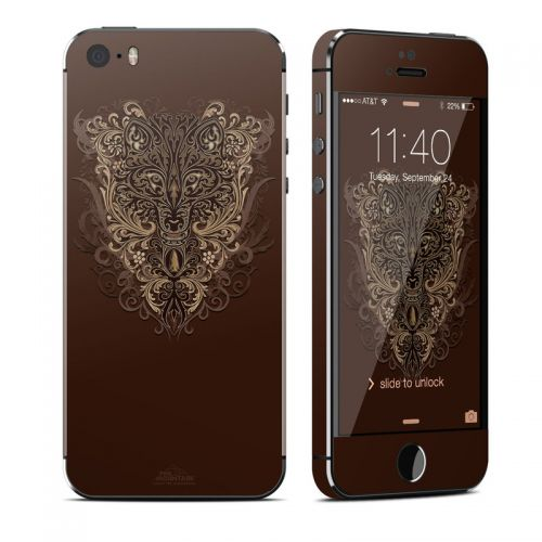 Spanish Wolf iPhone SE, 5s Skin