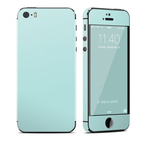 Solid State Mint iPhone SE, 5s Skin