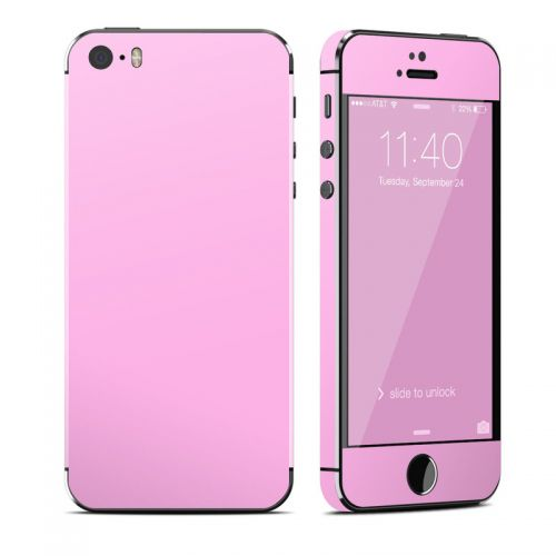 Solid State Pink iPhone SE, 5s Skin