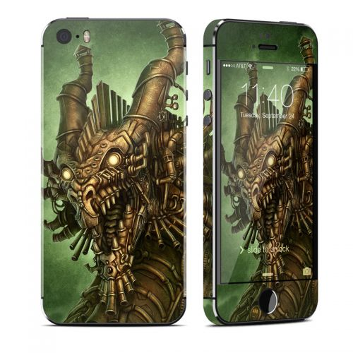 Steampunk Dragon iPhone SE, 5s Skin