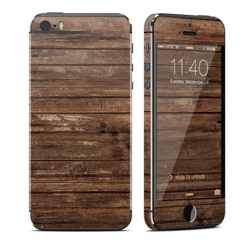 Stripped Wood iPhone SE, 5s Skin